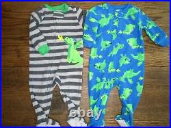 Baby Boys 12 Piece Mixed Fall Winter Clothing Lot 9 Months Tops Bottoms Pajamas