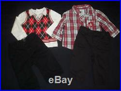 Baby Boys 3-6M 6-9M Fall Winter Clothes Outfit Lot 3 6 9 Months FREE SHIPPING