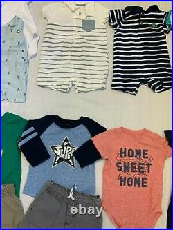 Baby Boys 6-12 Months lot/ 58 spring summer clothing Casual outfits Okie Dokie++