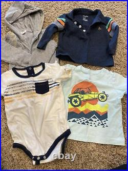 Baby Boys Clothes huge lot Size 6-9 Months Tea Collection, Baby Gap, Burts bees