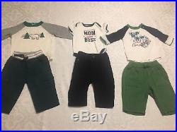 Baby Boys Lot Clothes/Outfits/Sleepers Size 3 and 3-6Months Winter fall