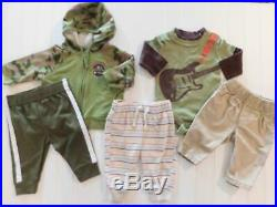 Baby Boys Newborn 0-3 Months Fall Winter Shirts Pants Sleeper Clothes Outfit Lot