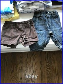 Baby Clothing 0-3 Months Lot Of 130