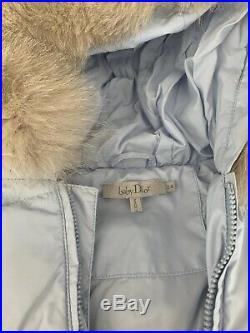 Baby Dior down jacket, Size T2