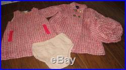 Baby Gap 12-18 Tweed Dress Coat Hat Set Lot Gorgeous