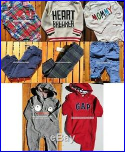 Baby Gap Boys 6-12 Months Winter Clothes 8pc Pants Tops New $221
