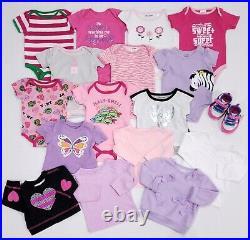 Baby Girl Clothes Lot 65+ Pieces Newborn 0-3 Months 3-6 Months