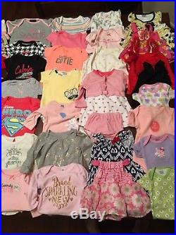 Baby Girl Clothes OVER 100 PIECE Lot Infant Toddler Newborn 3M CARTER KLEIN NIKE