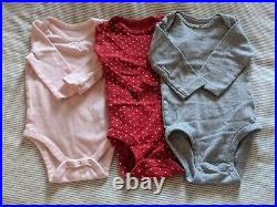 Baby Girl Clothing Lot Size 3-6 mos Fall Winter Essentials 22 Pieces