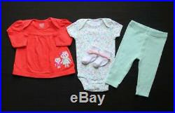 Baby Girl Newborn 0/3 3 3/6 6 Months Fall Winter Clothes Outfits Sets Lot