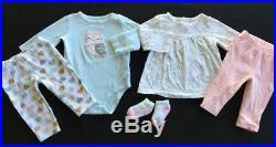 Baby Girl Newborn 0/3 3/6 Months Fall Winter Outfits Sets Clothes Lot Free Ship