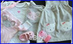 Baby Girl Newborn 0/3 3 Months Fall Winter Outfits Sets Clothes Lot Free Ship