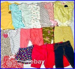 Baby Girl Newborn Clothing Lot 105 Pieces Bodysuits Pants Sleepers Gerber Carter