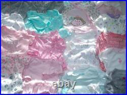 Baby Girl Sz 6 m 6-9 9 Months Winter Long Sleeve Bodysuit Pajamas Clothes lot