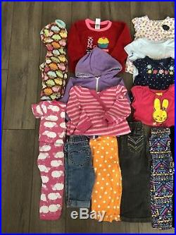 Baby Girl Toddler Clothes 18-24 Months Fall/Winter Clothes Outfit Lot 34 pieces