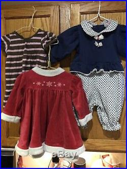 Baby Girl clothes 6-9 months winter/spring lot, 72 + Clothes Toys Books Added
