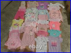 Baby Girl-new Born Clothes-lot Of 28
