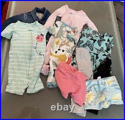 Baby Girls 9 Months to 18 Months Clothing Lot 75 Pieces Carters Disney & More
