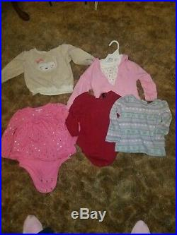 Baby Girls Clothes Lot of 36 winter, 26 summer Size18 Months
