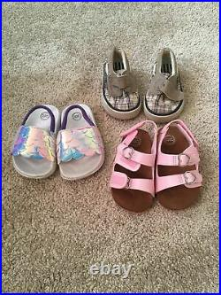 Baby Girls Clothes/Outfits Lot 46 Pieces Size 3-9 Months Winter/Summer Shoes