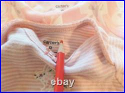 Baby Girls PREEMIE Carter's Bodysuit Shirts Pants Gown Clothes Outfit Lot Reborn