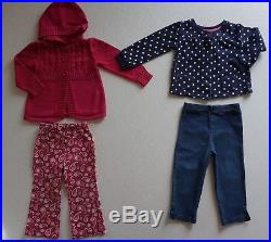 Baby Girls Size 24 months / 2T Fall Clothes Lot of 39 Items L3-18
