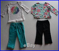 Baby Girls Size 24 months / 2T Fall Clothes Lot of 45 Items L1-18