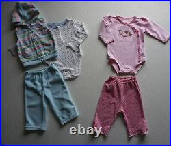 Baby Girls Size 9, 6-12 Months Fall/ Winter Clothes Lot of 35 Items L1-21