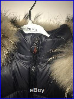 Baby Moncler Snow Suit Navy 6-9 Months