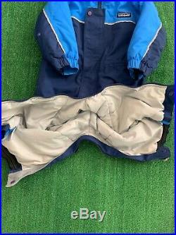 Baby Patagonia Snow Pile Snowsuit One-Piece Toddler Boy 24M Blue