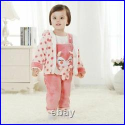 Baby Winter Clothes Thick Warm Coat Pants Set Jumpsuit Clothing Girl Boy Outfit