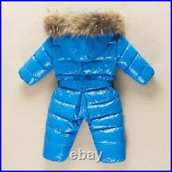Baby Winter Jumpsuit Clothing Warm Outerwear Coat Duck Down Jacket Kids Boy Girl