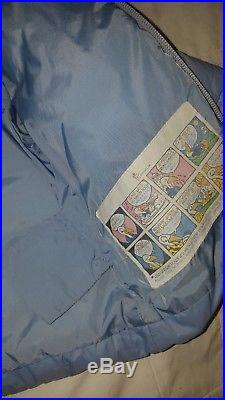 Baby blue boys designer moncler feather down puffa coat jacket age 12-18 months
