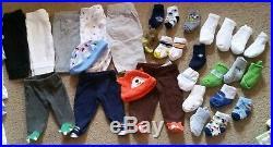 Baby boys Preemie & Newborn Clothes Lot 91 pcs Carter's Koala