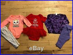 Baby girl Clothes 0-3,3-6 Months Fall/Winter Clothes Outfit Lot 42 pieces