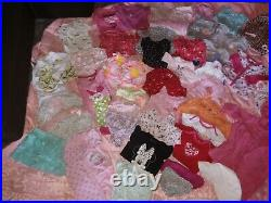 Baby girl clothes, coats, hats. Bed canopy, newborn thru 2 Toddler. No stains