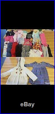 Baby girl clothes lot winter 3-18month