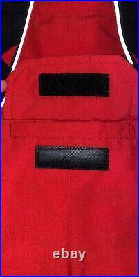 Babys Lamb Coyote Fur-Trim Down Snowsuit RED Authentic Canada Goose 3/6