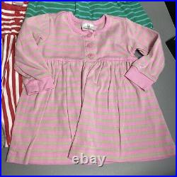 Big 15pc Hanna Andersson Baby Girl Size 80 (18-24M) Clothing Lot, Mostly Dresses