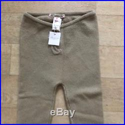 Bonpoint Cashmere Leggings Baby Girl 24m 2years Beige Puce Bottoms NWT