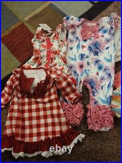 Boutique baby girl clothes