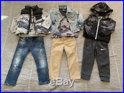 Boys 3T-4T Fall Winter Clothes, Gorgeous Ralph Lauren Down Jacket, 24 Piece Lot