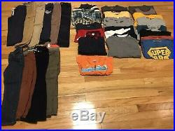 Boys Fall Winter Huge Lot Name Brands Pants Tops 5 5T 31 Pieces Exc Condition