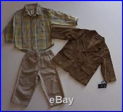 Boys Size 24 Months 2T Fall Spring Clothes Lot of 29 Items L3-18