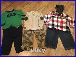 Boys Size 3T Fall/Winter ClothesLot Of 11 Pcs. ECBaby Gap, US Polo, OshKosh