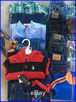 Boys Toddler 18-24mos 2T Clothing Lot 36 Pieces Gap Osh Kosh Lucky Brand Adidas
