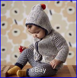 Brand New With Tags Misha & Puff North Wind Knit Coat for Girls and Boys 3-4yrs