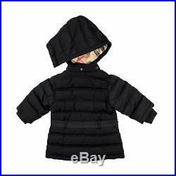 Burberry Baby Girl Stepp Mantel navy Winter Jacke mit Kapuze NP 159,00