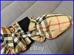 Burberry Baby's Skylar Archival Check Snowsuit