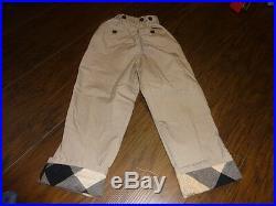 Burberry Boys 3y 98 3t Khaki Pants